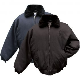 Nylon Security Bomber Jacket