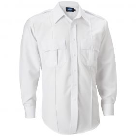 Deluxe Long Sleeve Shirt w/ CIBA Moisture Wicking and Zipper