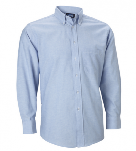 Oxford Dress Shirt, Long Sleeve, Light Blue