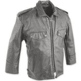 Taylor's Leatherwear Passaic Leather Police Coat 4412Z