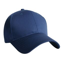 Baseball Hat, Cotton Twill, 6 Panel