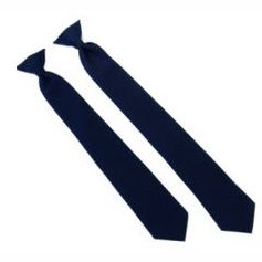 Solid Clip-On Ties