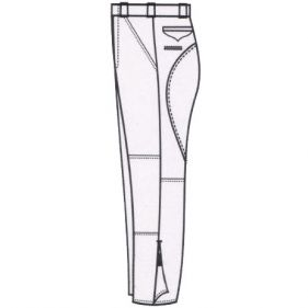 Custom Made Breeches, Your Color & Material Choice, 6 to 8 Week Delivery