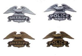 Motor Officer Helmet Decals