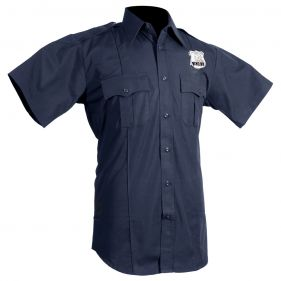NYPD Police Shirt Short Sleeve