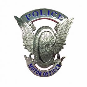 Silver Helmet Badge, Small