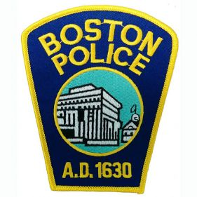 Add Boston PD Patch, Both Sleeves