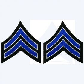 Sergeant Stripes Patch, Both Sleeves