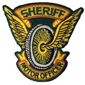 Sheriff Motor Officer Emblem-1