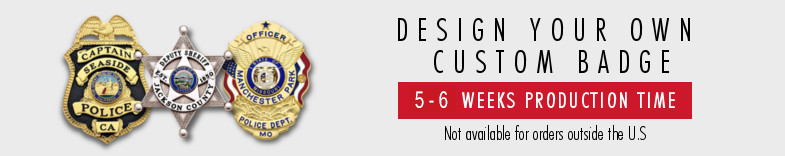Design and view your own custom made badge online before you buy